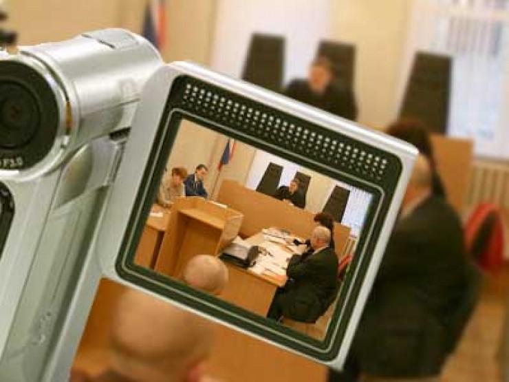 Фото и видеозаписи с судебных процессов будут прилагаться к протоколам заседаний