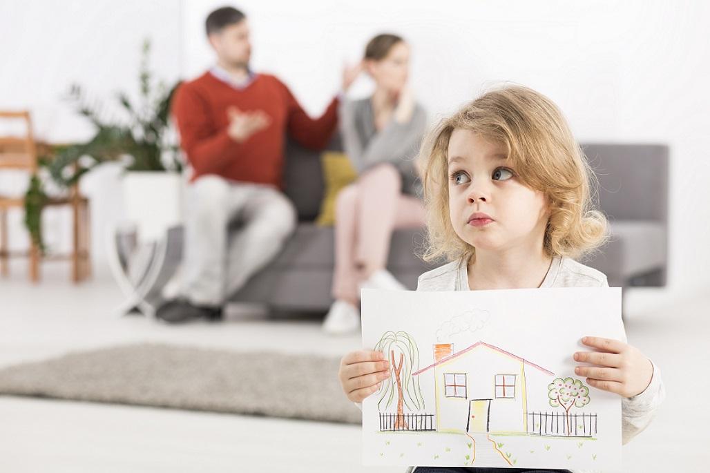 Определение места жительства несовершеннолетнего с родителем, проживающим отдельно